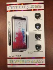 zNitro Tempered Glass Screen Protector for LG G3 Clear