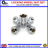 Locking Wheel Nuts 12X1.25 Tapered For Nissan Micra (2010-16) [MK4]