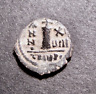 MAURICE TIBERIUS, Christian Cross in City of God, Antioch, Syria, Byzantine Coin