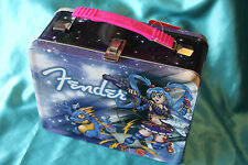 CLOSEOUT! Fender Limited Edition Anime Rock Steel Lunchbox, MPN 9100293406