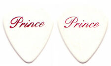 PRINCE Guitar Pick : 2006 Tour red hot pink foil