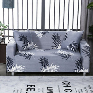 Universal Printed Sofa Cover Stretch Elastic Loveseat Couch Slipcover Protector