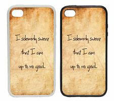 I Solemnly Swear Designs - Rubber and Plastic Phone Cover Case