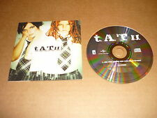 *T.A.T.U. CD SINGLE EU ALL THE THINGS SHE SAID