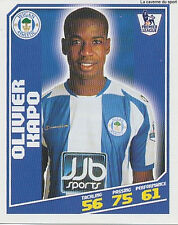 N°473 OLIVIER KAPO IVORY COAST WIGAN ATHLETIC STICKER TOPPS PREMIER LEAGUE 2009