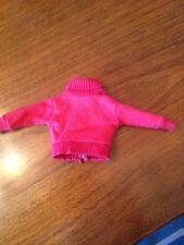 Vintage Barbie Red Sweater Top 1960s