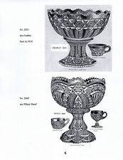 Early American Pattern Glass Punch Bowls