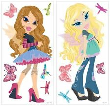 BRATZ FASHION PIXIES BiG Wall Stickers Mural Room Decor Decals Fairy Butterflies