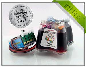 Rihac CISS for Epson XP100 XP200 XP300 XP400 WF2540 200 Cartridges Ink System