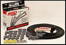 MSD SUPER CONDUCTOR UNIVERSAL WIRES BLACK, 90° BOOTS. # MSD-31233-BLACK WIRES