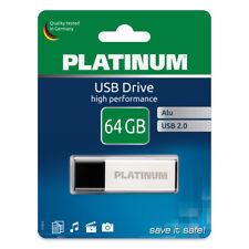 Platinum 64 GB USB-Stick ? eleganter USB 2.0 Speicher-Stick aus Aluminium