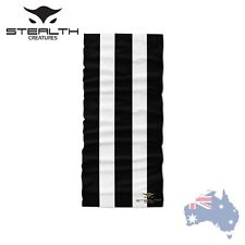 Stealth Creatures Face Sock™ - Bandana Mask Neck Scarf Headwear UV Stripe B&W