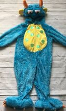 Monster Bug Halloween Costume SZ 2T Blue Plush Toddler Cosplay Zip Front Party