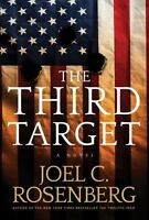 The Third Target by Joel C Rosenberg FREE SHIPPING a Hardcover book 3rd