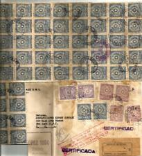 Paraguay - 1957 Reg Cover With 56 Stamps ( Manteuffel Collection )