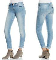 Lee Damen Jeanshose Scarlet Skinny Blau W24 - W25