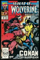 What If #16 Wolverine battled Conan the Barbarian Comic Red Sonja Gary Kwapisz