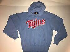 Minnesota Twins Nike Small Hoodie Sewn Front Logo Blue Sweatshirt