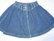 Girls Size 6 Esprit denim skirt with adjustable waist   New without tags