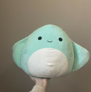 "Squishmallow Maggie The Manta Ray 12"" Australian Exclusive Size BNWT HTF"