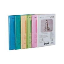 PENTEL RECYCOLOGY DISPLAY BOOK CLEAR 20POCKET ASSORTED- Pack of 5 - FREE P&P