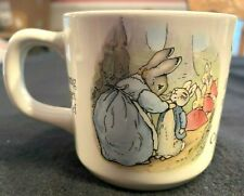 Wedgwood Beatrix Potter Peter Rabbit Coffee Mug Cup Flopsy Mopsy Cottontail