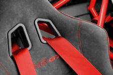 Audi Seat Belts Red RS R8 A3 A4 A5 A6 A7 TT Q3 Q5 Q7 RS PERFORMANCE BELTS S line