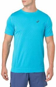 ASICS Men's Gel-Cool Short Sleeve Top, Aquarium, Small