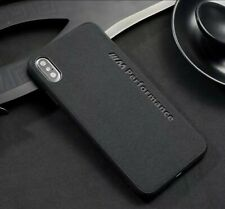 iPhone Fit BMW M Performance Suede Alcantara Case Cover All Models UK