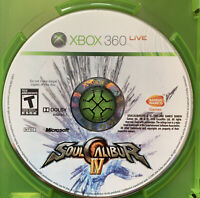 Soul Calibur IV (Microsoft Xbox 360, 2008) - DISC ONLY in Case. No manual.
