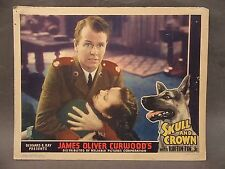 "1935 Rin Tin Tin in SKULL AND CROWN 14"" x 11""  full color movie Lobby Card TM"