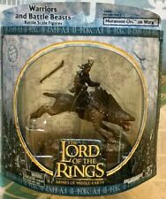 LOTR AOME Warriors Battle Beasts Morannon Orc On Bucking Warg Lord of the Rings