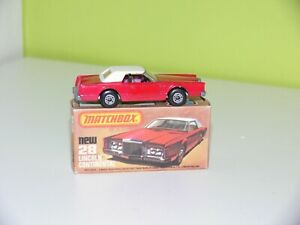 Matchbox 75 Superfast Lincoln Nr.28 incl. OVP