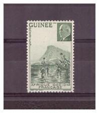 GUINEE  .    N° 176 a .  VARIETE   SANS LA VALEUR    NEUVE   **   .SUPERBE   .