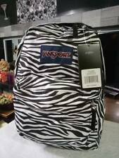 JANSPORT BLACK/WHITE ZEBRA SUPERBREAK BACKPACK