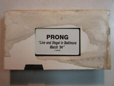PRONG LIVE AND ILLEGAL IN BALTIMORE MARCH '94 VHS CONCERT VIDEO MINISTRY RELATED