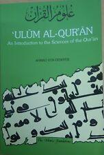 ULUM Al-Qur'an Ahmad Von Denffer - The Islamic Foundation