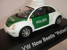 VW NEW BEETLE POLIZEI  EDITION LIMITEE  SCHUCO 1/43  REF 4537