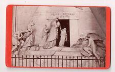 Vintage CDV Cenotaph to Marie Christine of Austria, Augustinerkirche, by Canova