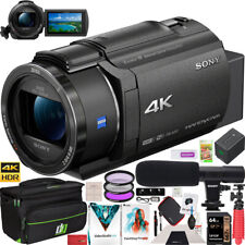 Sony Fdr-Ax43 4K Uhd Handycam Camcorder Kit Ax43 Video Recording Camera Bundle