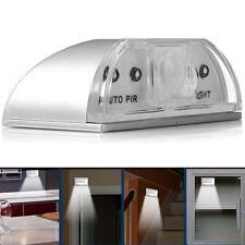IR Capteur de lumière Auto PIR infrarouge sans fil Keyhole Motion 4 Lampe LED HH