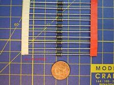 Lot 25 diodes 1N 4007 - redresseur AC/DC 1 A / 1000V locomotive wagon HO jouef