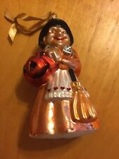 """Christopher Radko """"Bea Witched Witch Halloween Ornaments 7"""""""