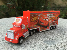 Tomy Tomica Disney Pixar Cars Mack Truck Trailer Metal Toy Car New No Package