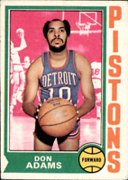 1974-75 Topps Basketball #s 1-264 +Rookies (A2366) - You Pick - 10+ FREE SHIP