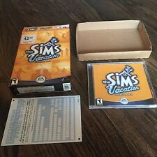 Sims Vacation Expansion Pack Windows 95 98 XP CD ROM  PC3