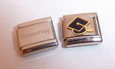 GRADUATION CAP 9mm Italian Charm + 1x Genuine Nomination Classic Link CONGRATS