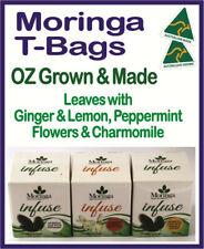 TEA-BAGS Moringa FLOWERS+Chamomile LEAF+Ginger & Lemon LEAF+Peppermint - 3 BOXES
