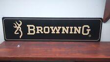 "Browning Fire Arms Logo Aluminum Sign  6"" x 24"""