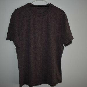 Lululemon Men's Size Large Purple Blended Shirt Activewear Running